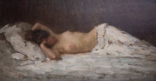 Nicolae Grigorescu's Nude (1891–5)